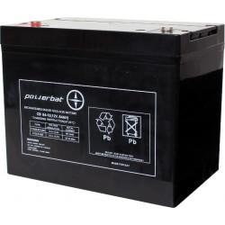 Akumulator AGM Powerbat 12V...