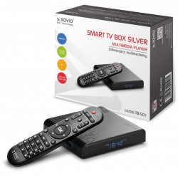 Savio Smart TV Box Silver...