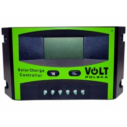 Regulator solarny SOL 30A LCD