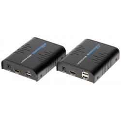 EXTENDER HDMI+USB-EX-100...