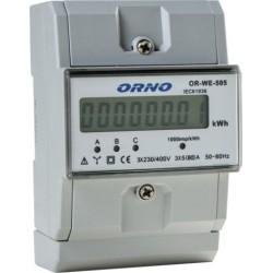 OR-WE-505 Wskaźnik zużycia...
