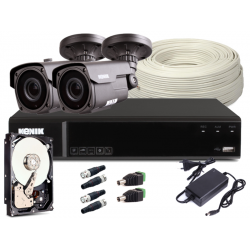 Zestaw CCTV, 2x Kamera...