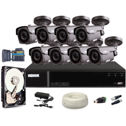 Zestaw CCTV, 8x Kamera...