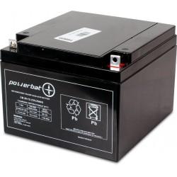 Akumulator PowerBat AGM 25Ah